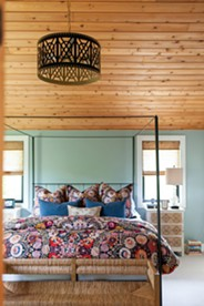"""Designer Emily Mejia says experimenting with """"patterns, colors, textures and shapes,"""" is the best way to add a """"lived in"""" look to your space. - KAYLEEN MICHELLE PHOTOS"""