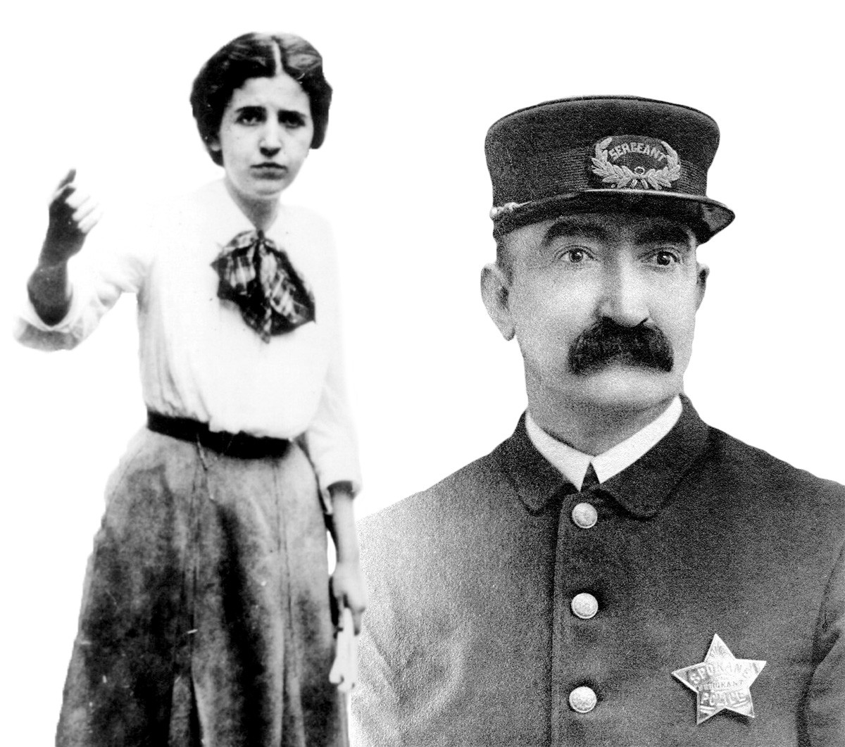 Activist Elizabeth Gurley Flynn and murdered cop John Sullivan are real people and characters in Walter's latest fiction.