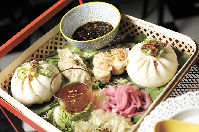 Pork buns, crab dumplings and beef wontons are unfailingly fresh. - YOUNG KWAK PHOTO