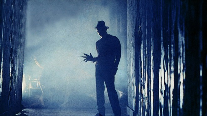 Freddy's coming for you: The original Nightmare on Elm Street plays on Halloween at the U of I drive-in.