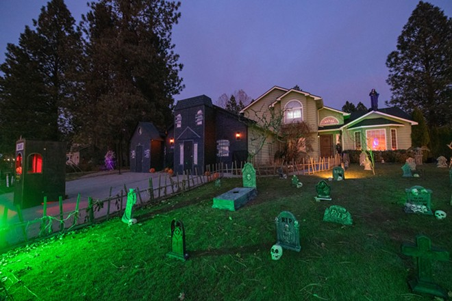 The King Family Haunted House, shown here in 2019, is back for outdoor scares this year. - ERICK DOXEY