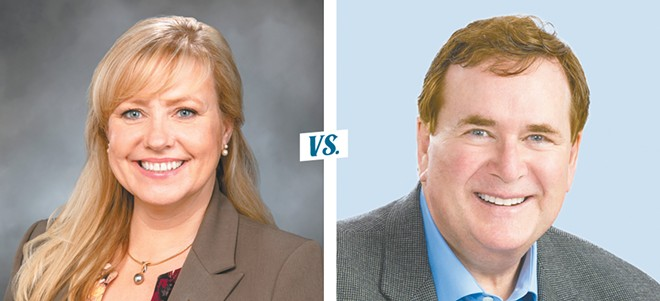 Republican Rep. Jenny Graham and Democratic challenger Tom McGarry