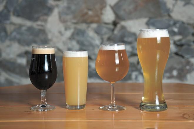 Whistle Punk Brewing has a full lineup of fresh tastiness. - DEREK HARRISON PHOTO