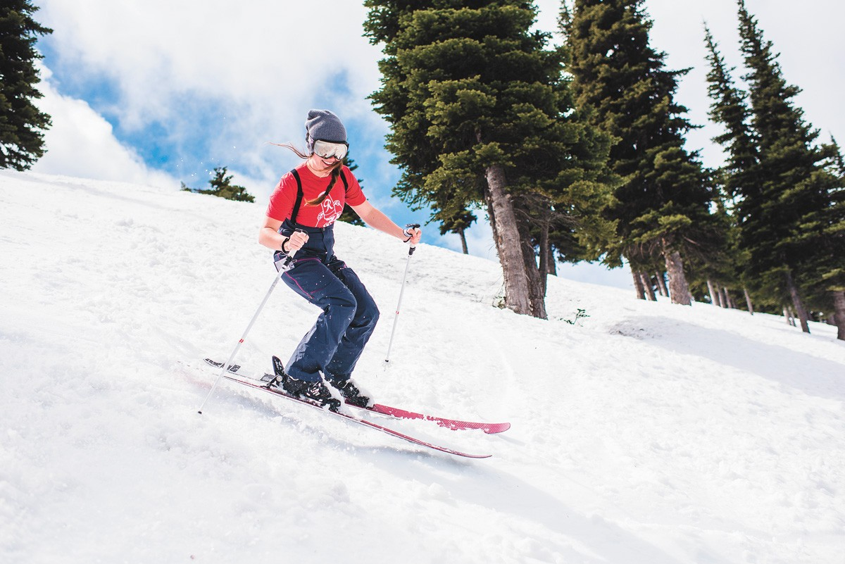 Crystal Mountain is about 85 miles southeast of Seattle. - CRYSTAL MOUNTAIN RESORT PHOTO