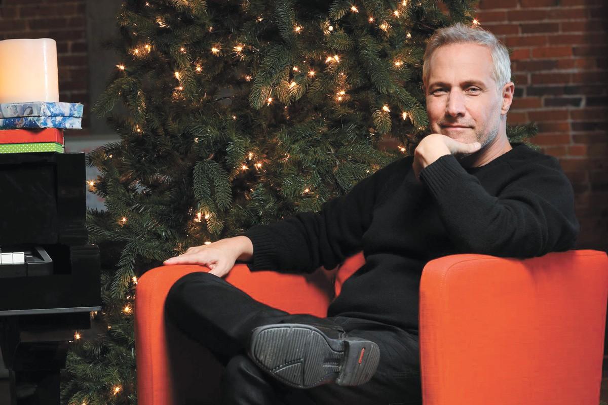 Jim Brickman, as synonymous with Christmas as Santa.