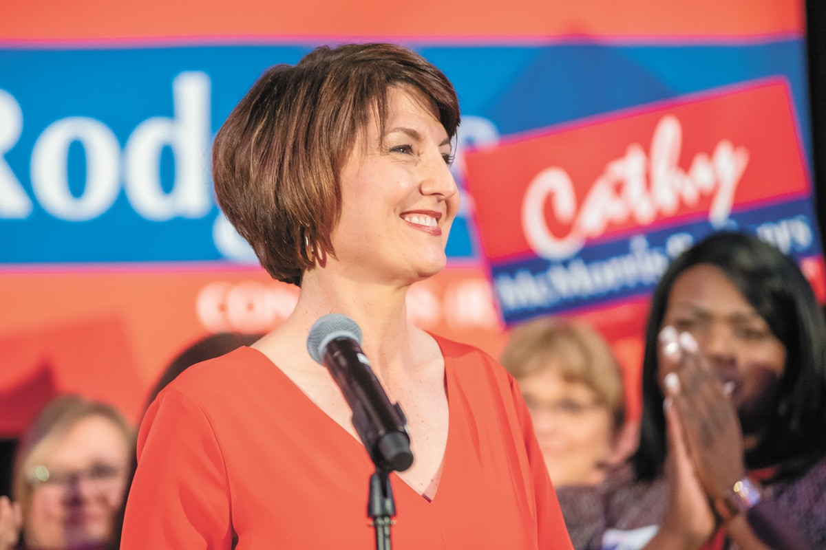 Steven A. Smith once thought that Cathy McMorris Rodgers was a person of principle. Lately, not so much. |erick Doxey photo