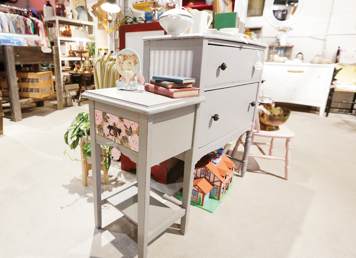 Find inspiration for your own upcycling projects by taking a stroll through Boulevard Mercantile. - YOUNG KWAK PHOTO