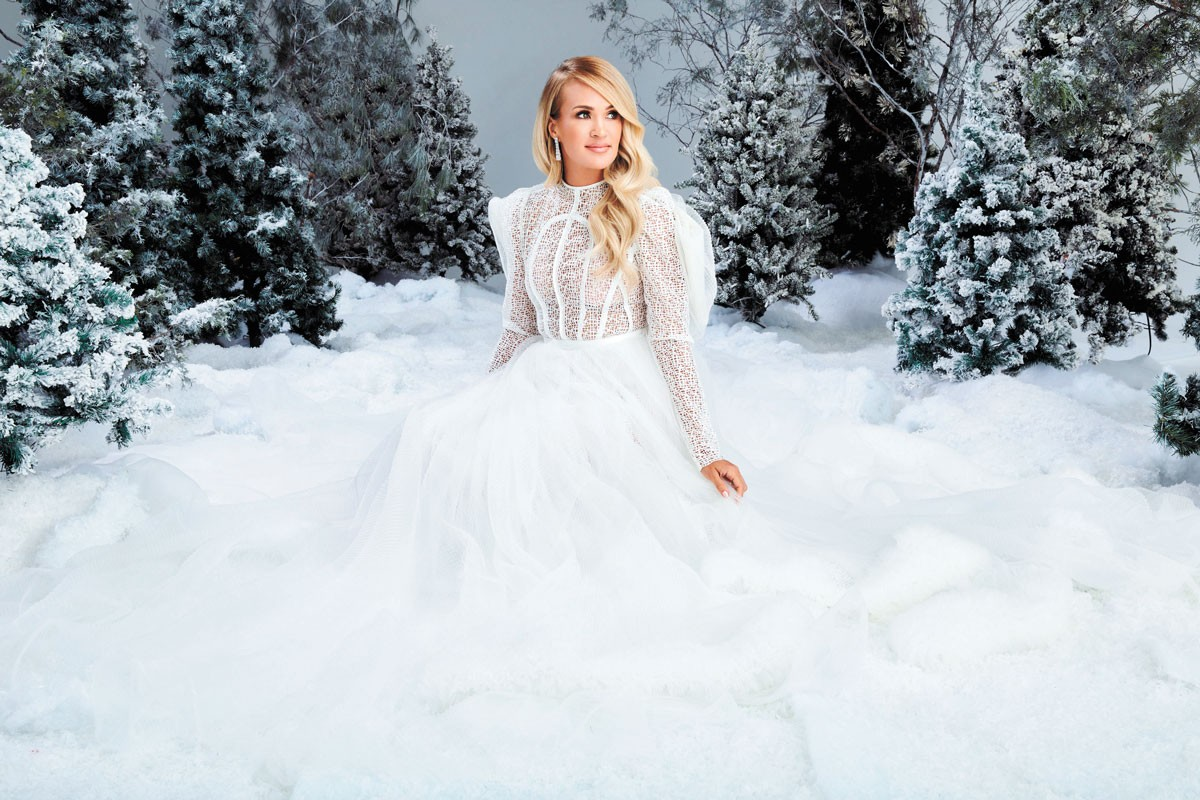 Carrie Underwood embraces some gospel on her holiday album.