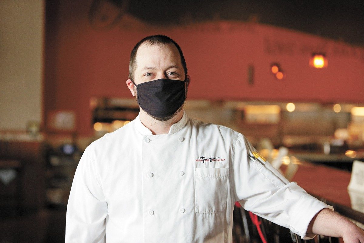 Twigs executive chef Jared Schlosser - YOUNG KWAK PHOTO