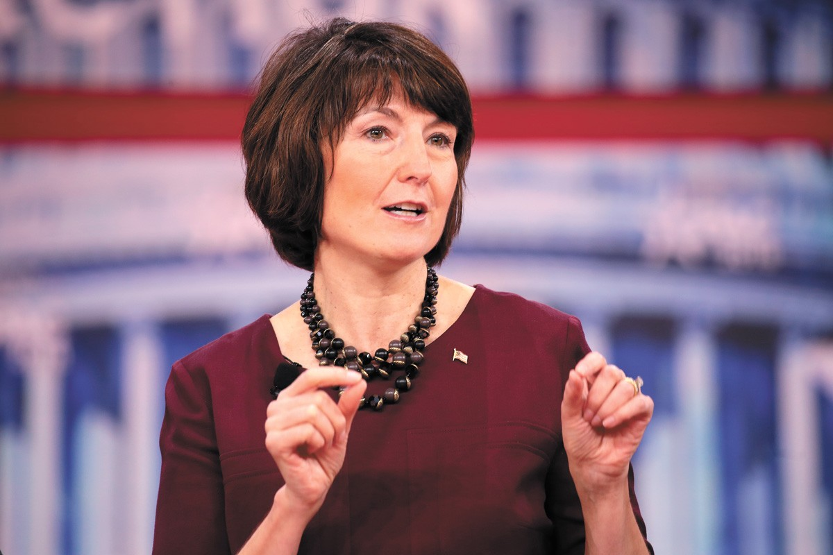 Cathy McMorris Rodgers' office didn't respond to an interview request from the Inlander. - GAGE SKIDMORE PHOTO