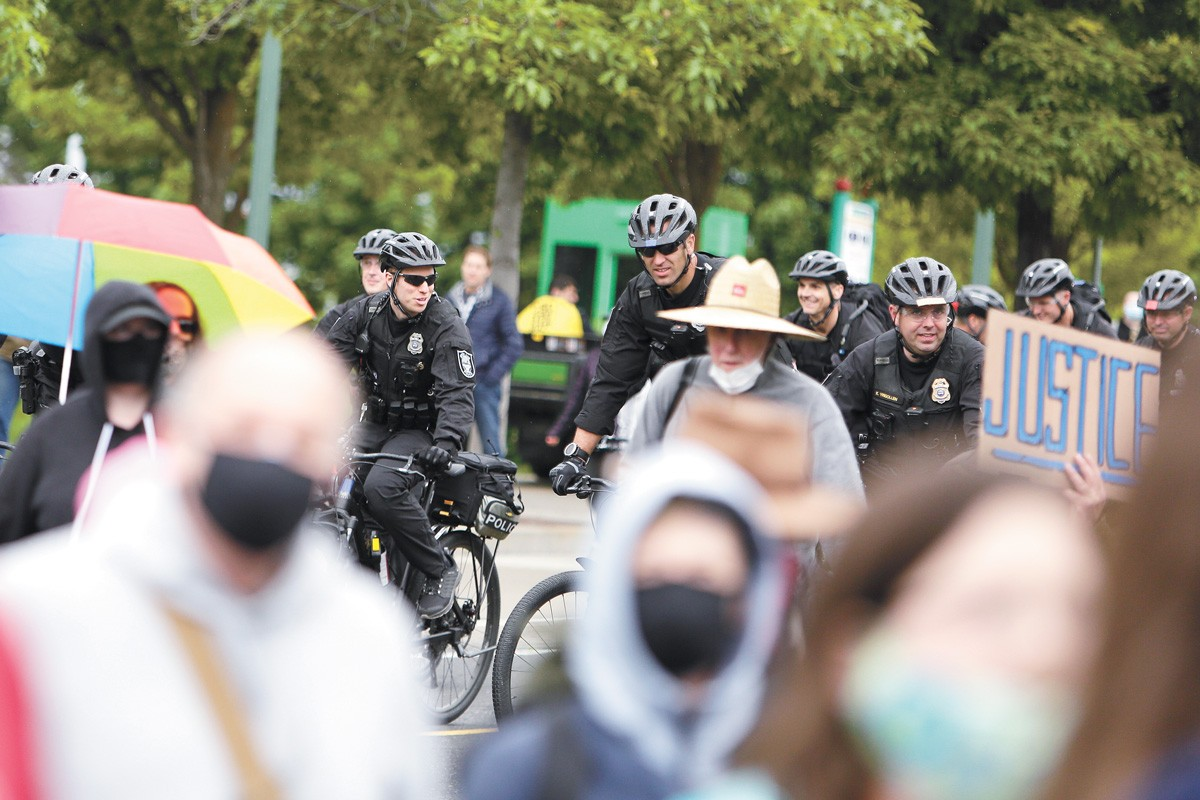 Negotiations with the Spokane police union have been ongoing since 2017. - YOUNG KWAK PHOTO