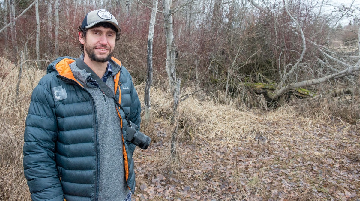 On a January outing to Turnbull Wildlife National Wildlife Refuge, Ben Goldfarb 
