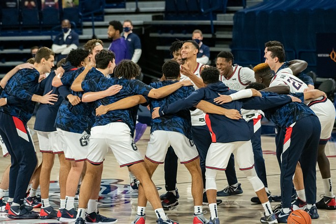 Is an undefeated season in the realm of possibility for this year's Zags? Yup.
