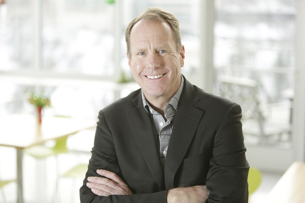 Tom Simpson, CEO of the incubator Ignite Northwest and president of the Spokane Angel Alliance. - YOUNG KWAK PHOTO