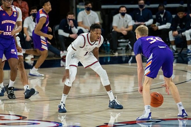 Don't look now, but Gonzaga's defense is catching up to its offense. - ERICK DOXEY