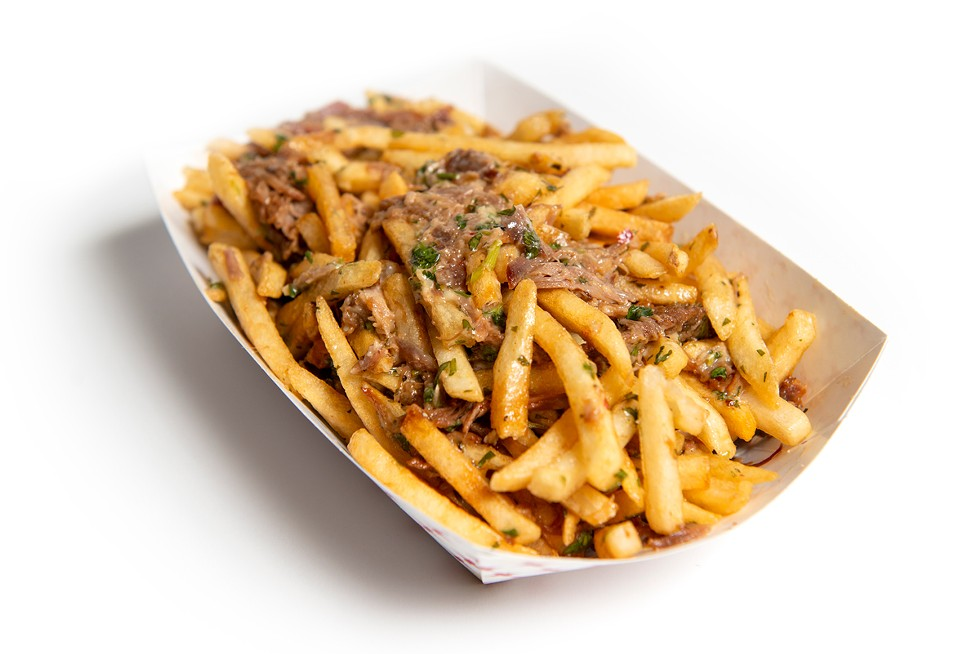 Dirty Fries from Stella's Cafe - DEREK HARRISON PHOTO