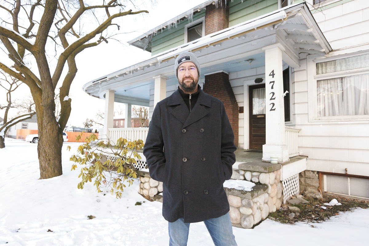 "Without being able to evict for unpaid rent or, in some cases, bad behavior, landlord Keith Kelley says, ""We're kind of like on a roller coaster holding on tight, hoping that the restraining belt doesn't let go."" - YOUNG KWAK PHOTO"