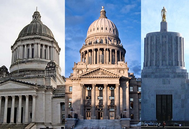 Officials in Idaho, Washington and Oregon all thought they'd be facing nightmarish budget deficits because of COVID. Instead, revenue just kept on growing.