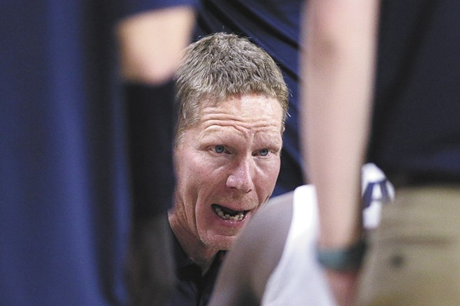 Zags coach Mark Few has his team on the verge of history. - YOUNG KWAK