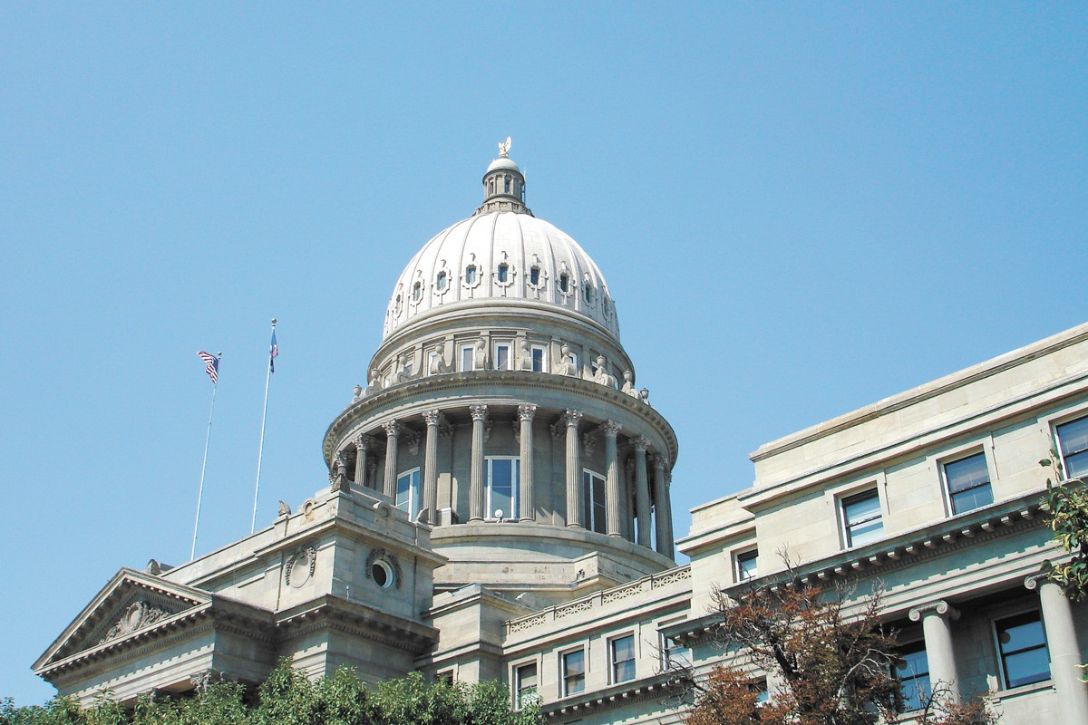 Last Friday, the Idaho Legislature voted to put the session on pause until April 6. - MICHAEL SAUERS/CC BY-NC-SA 2.0 PHOTO