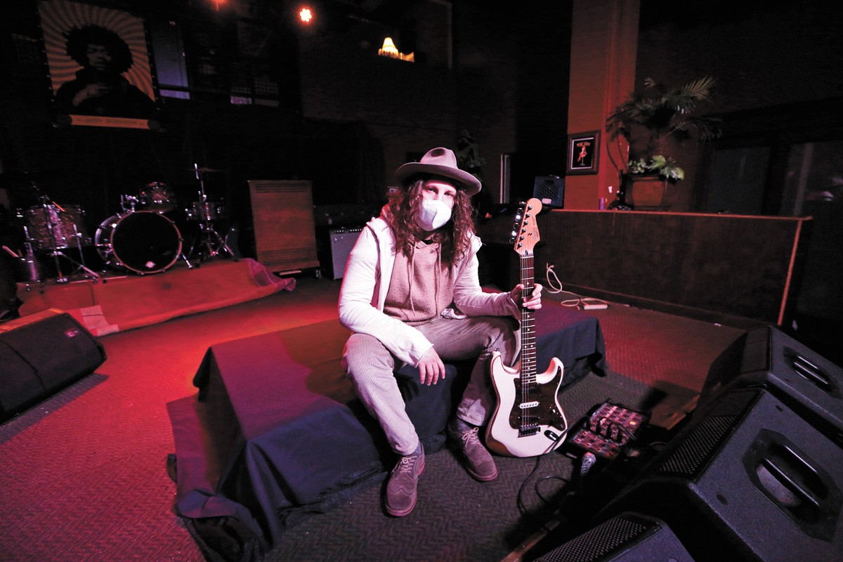 Lucas Brookbank Brown at the Red Room Lounge - YOUNG KWAK PHOTO