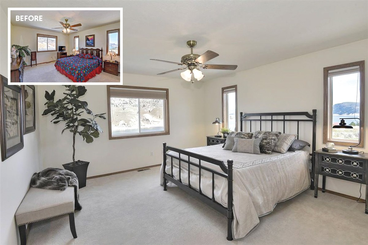 Staging by Sylvia Dunn of Home Staging Works. - RED HOG MEDIA PHOTO