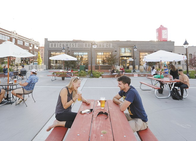 Patio season is coming, and Brick West is ready. - YOUNG KWAK