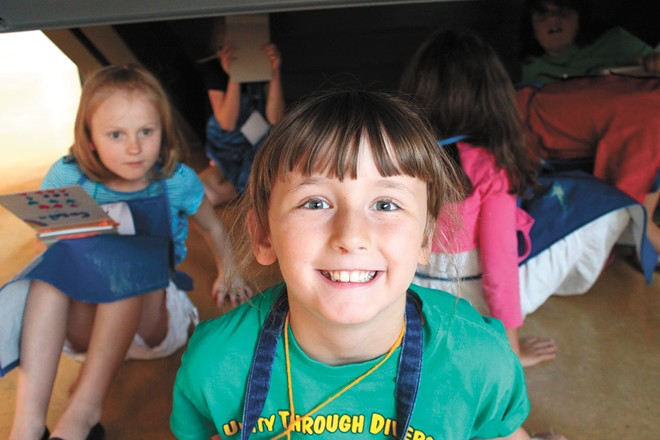 The MAC offers multiple day camps for kids to flex their creativity.