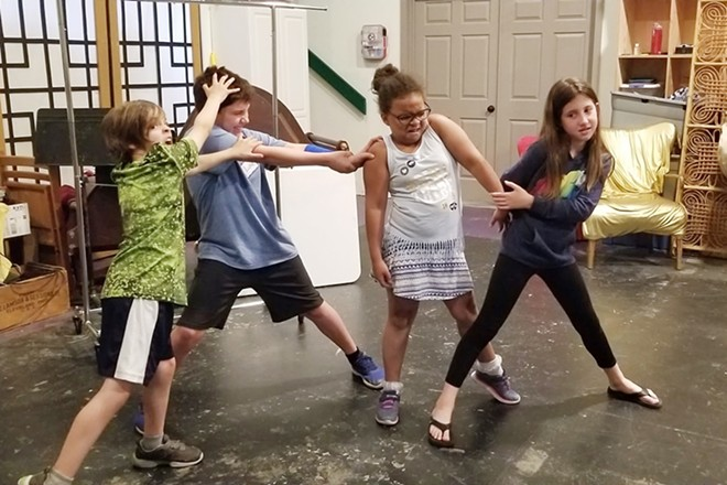 Spokane Children's Theater offers several week-long camps for kids of all ages.