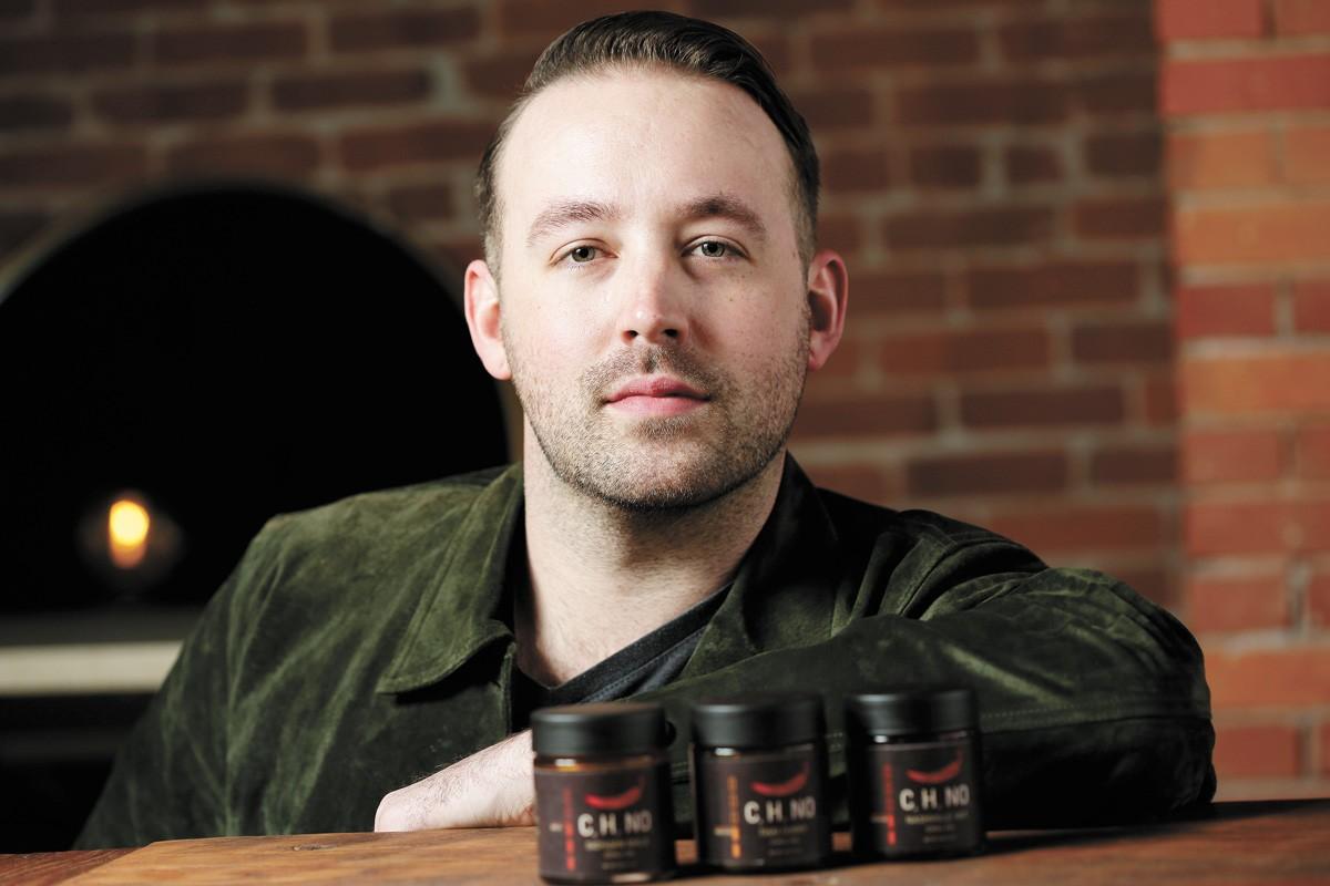 Spokane chef Joseph O'Neal is launching a new line of chili oils. - YOUNG KWAK PHOTO