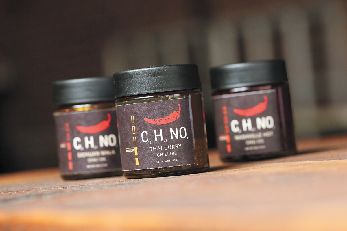CHNO is launching with Thai, Nashville Hot and Sichuan Mala flavors. - YOUNG KWAK PHOTO