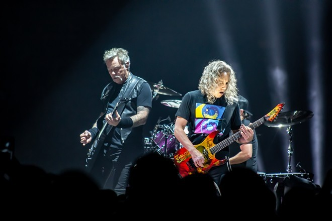 Metallica headlined Spokane Arena in 2018. Could their next show here - be at a Monsters of Rock reunion? - QUINN WELSCH