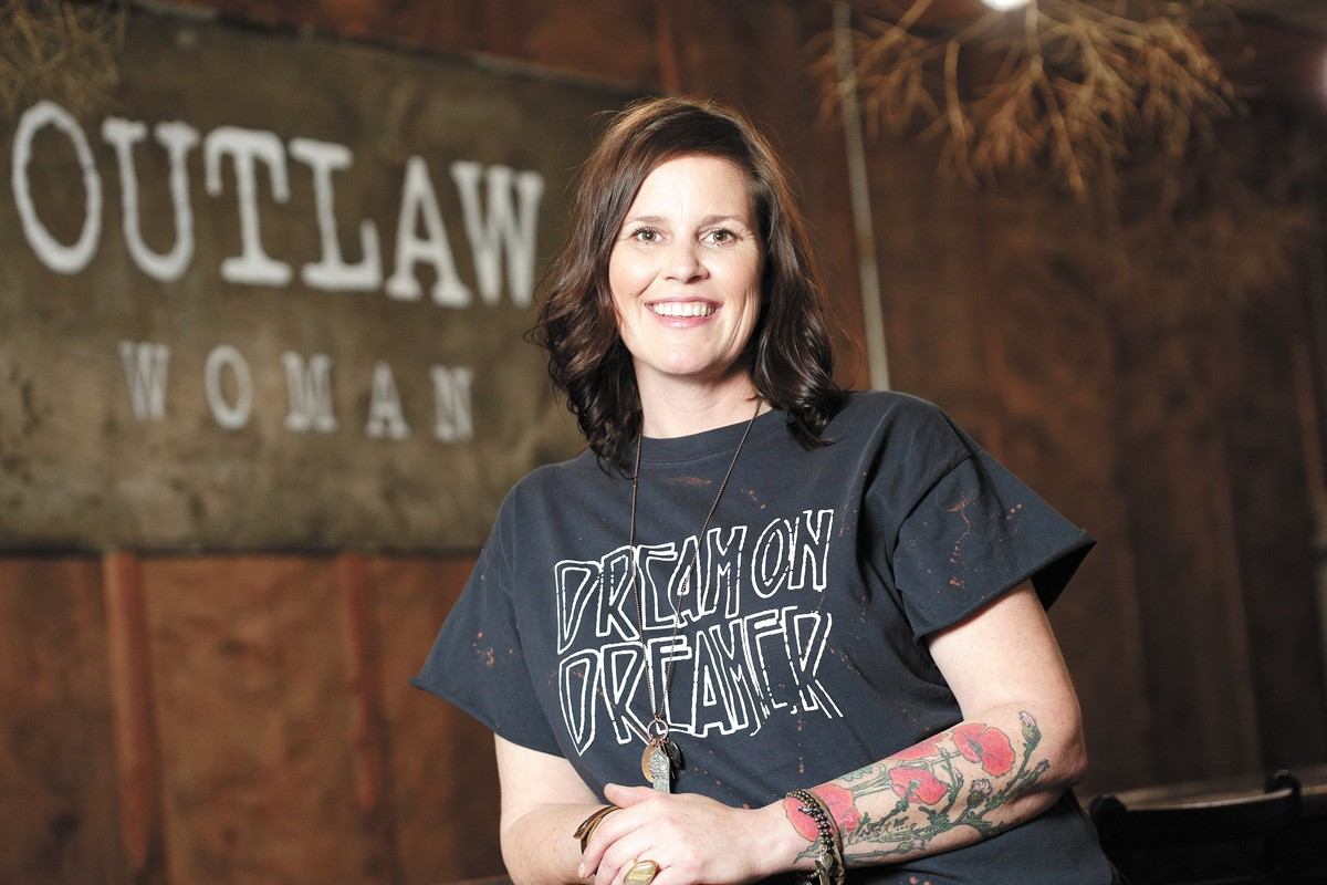 Outlaw Woman's Tamra Brannon. - YOUNG KWAK PHOTO