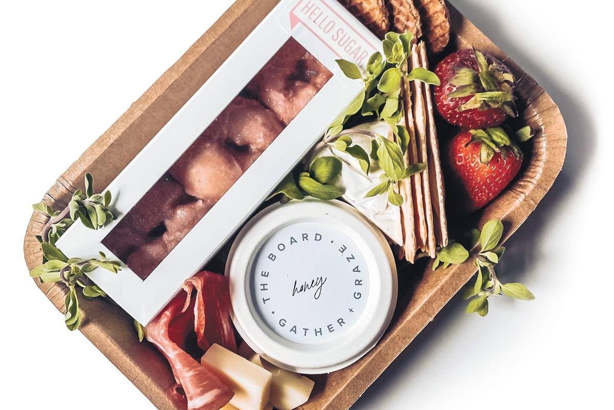 The Board's Mother's Day brunch box.