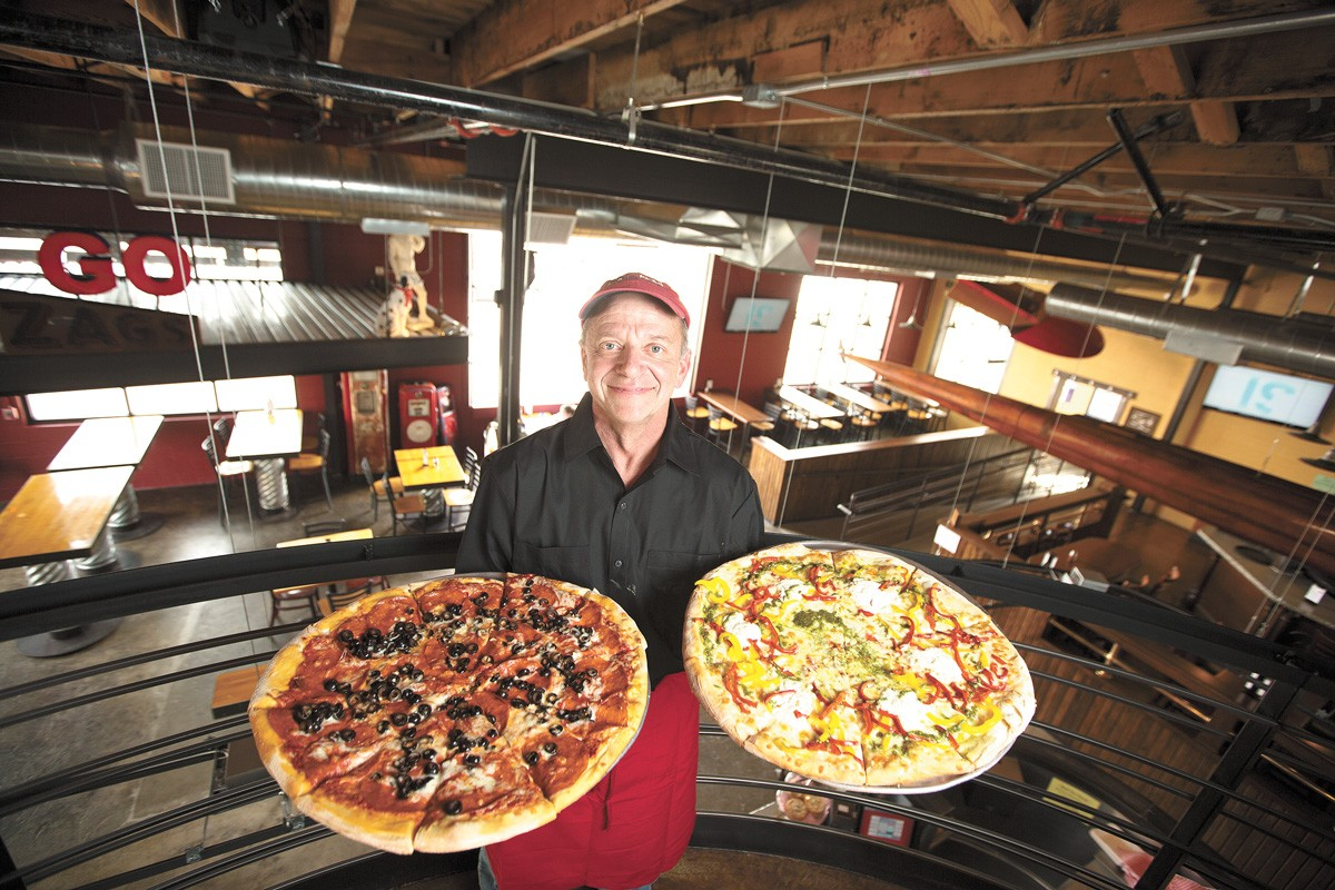 Mark Starr of David's Pizza is worried COVID-19 made people scared of each other. - YOUNG KWAK PHOTO