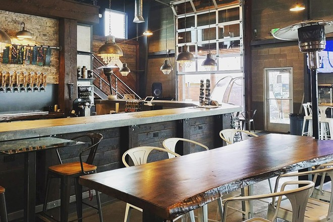 The taproom at Liberty Lake's Snow Eater Brewing Company