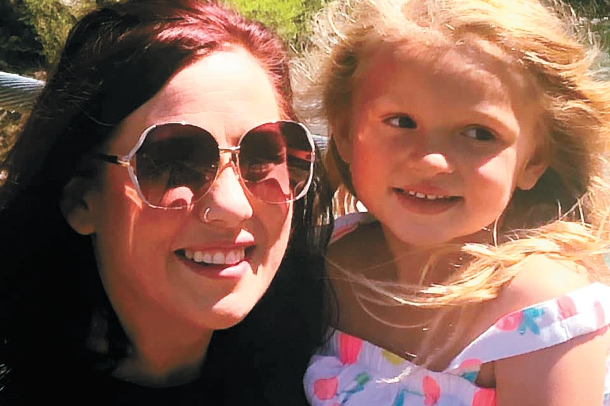 Kassie Dewey, 35, was found dead in her garage on April 11. Her 5-year-old daughter, Lilly, survived the attack.
