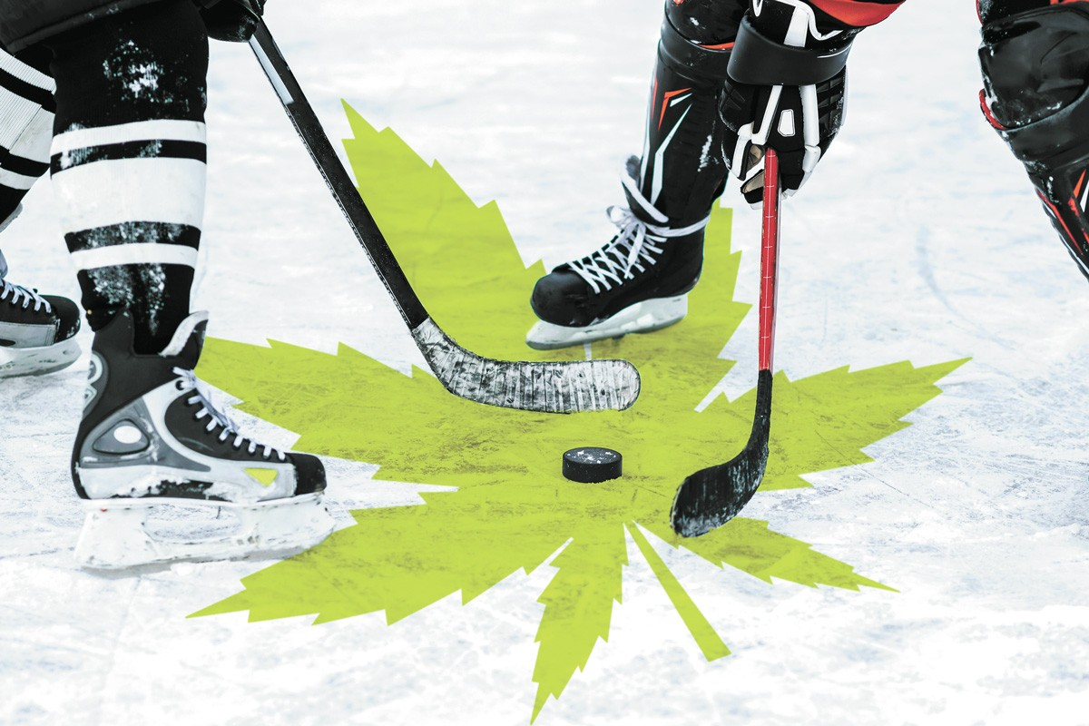 The National Hockey League doesn't punish players for cannabis use.