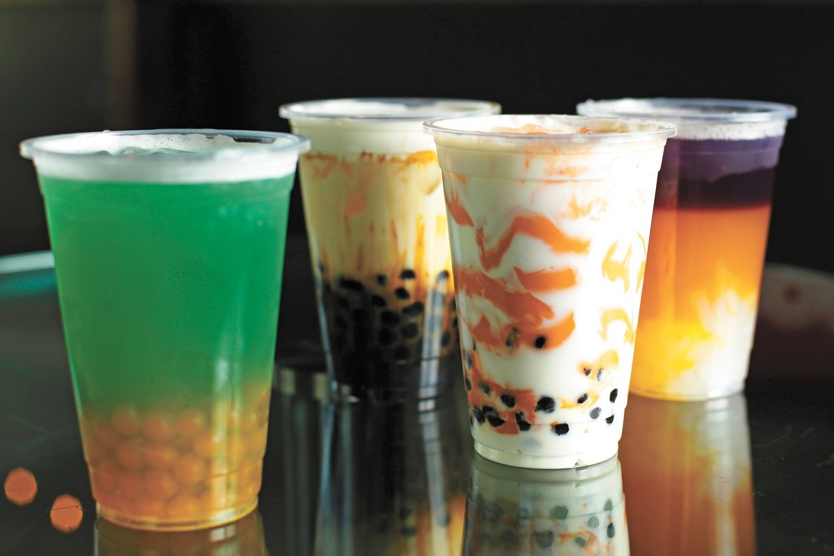 Make boba your cup of tea at BocoPop (pictured) and other bubble tea shops. - YOUNG KWAK PHOTO