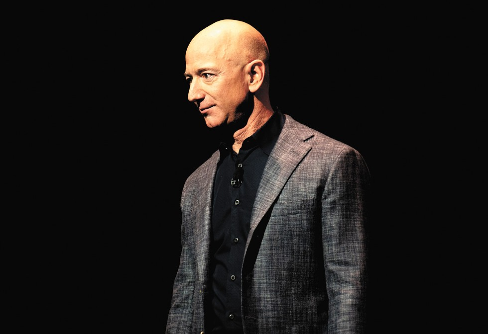 Personal and corporate representatives of Jeff Bezos declined to receive detailed questions about his taxes. - DANIEL OBERHAUS/CC BY 2.0 PHOTO