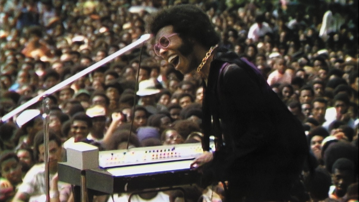 Sly Stone's performance is a bonus, but Summer of Soul shines as important American cultural history.