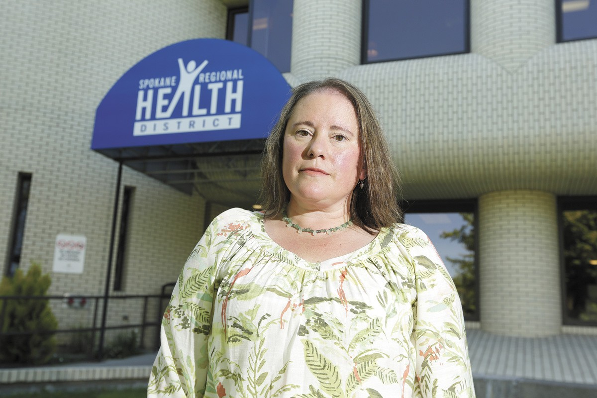 """Erika Henry, a top state health official, was fired for an email that called Spokane's health administrator Amelia Clark a """"weakling."""" - YOUNG KWAK PHOTO"""