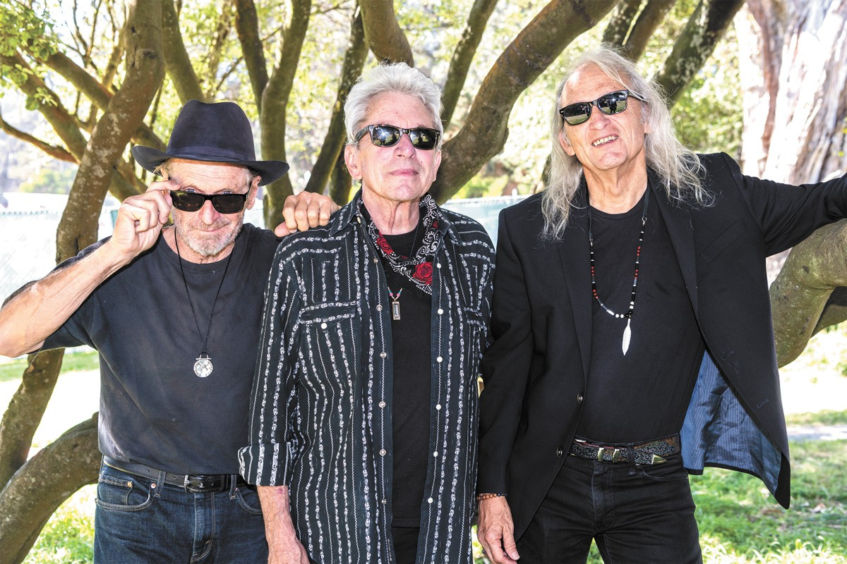 The Flatlanders are, from left, Butch Hancock, Joe Ely and Jimmie Dale Gilmore. - JAY BLAKESBERG PHOTO