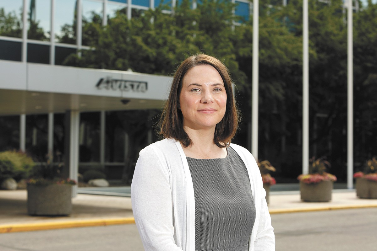 Heather Rosentrater, senior vice president for energy delivery at Avista. - YOUNG KWAK PHOTO