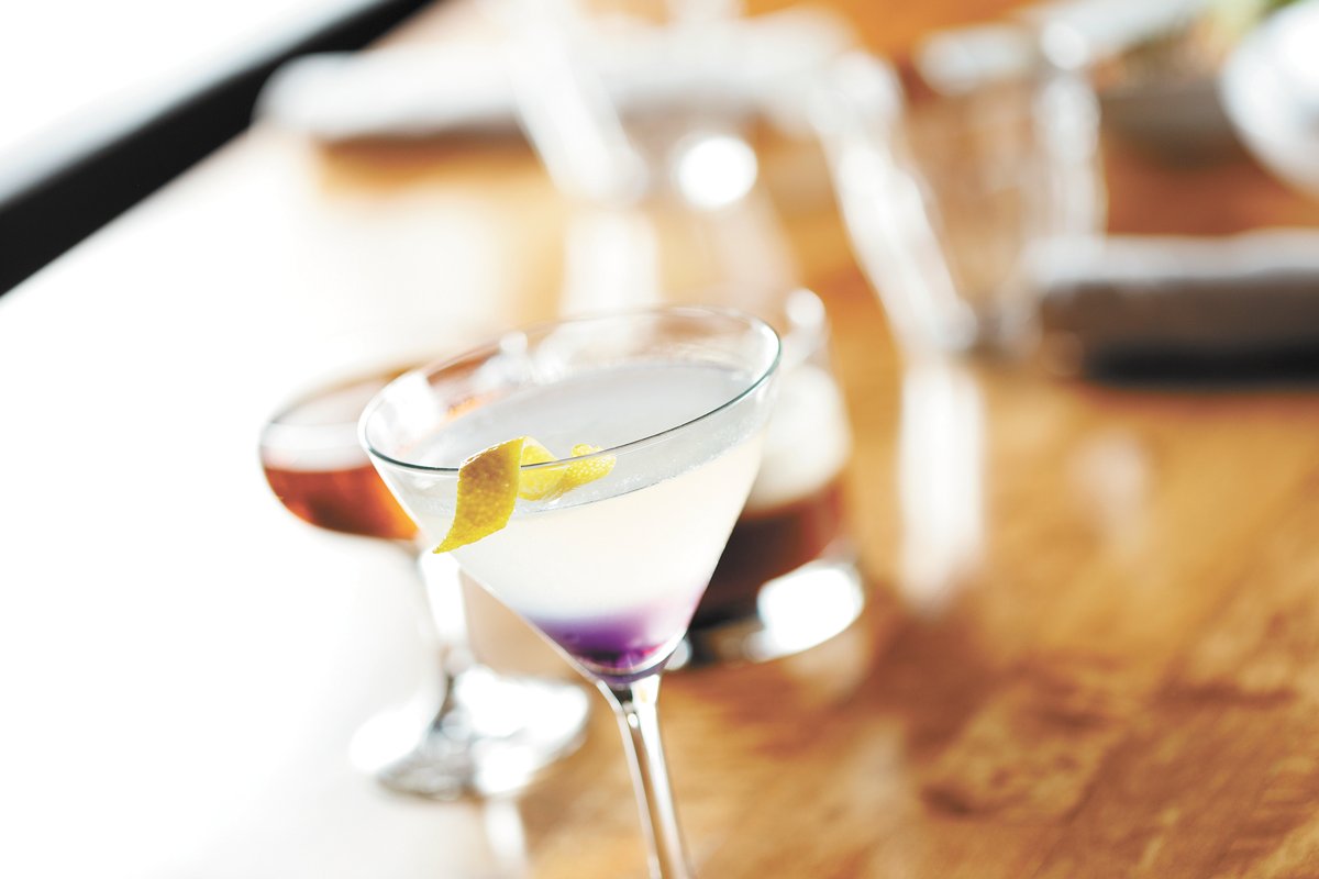Order one of our favorite cocktails, the Aviation, at readers' favorite all-around bar, Durkins. - YOUNG KWAK PHOTO