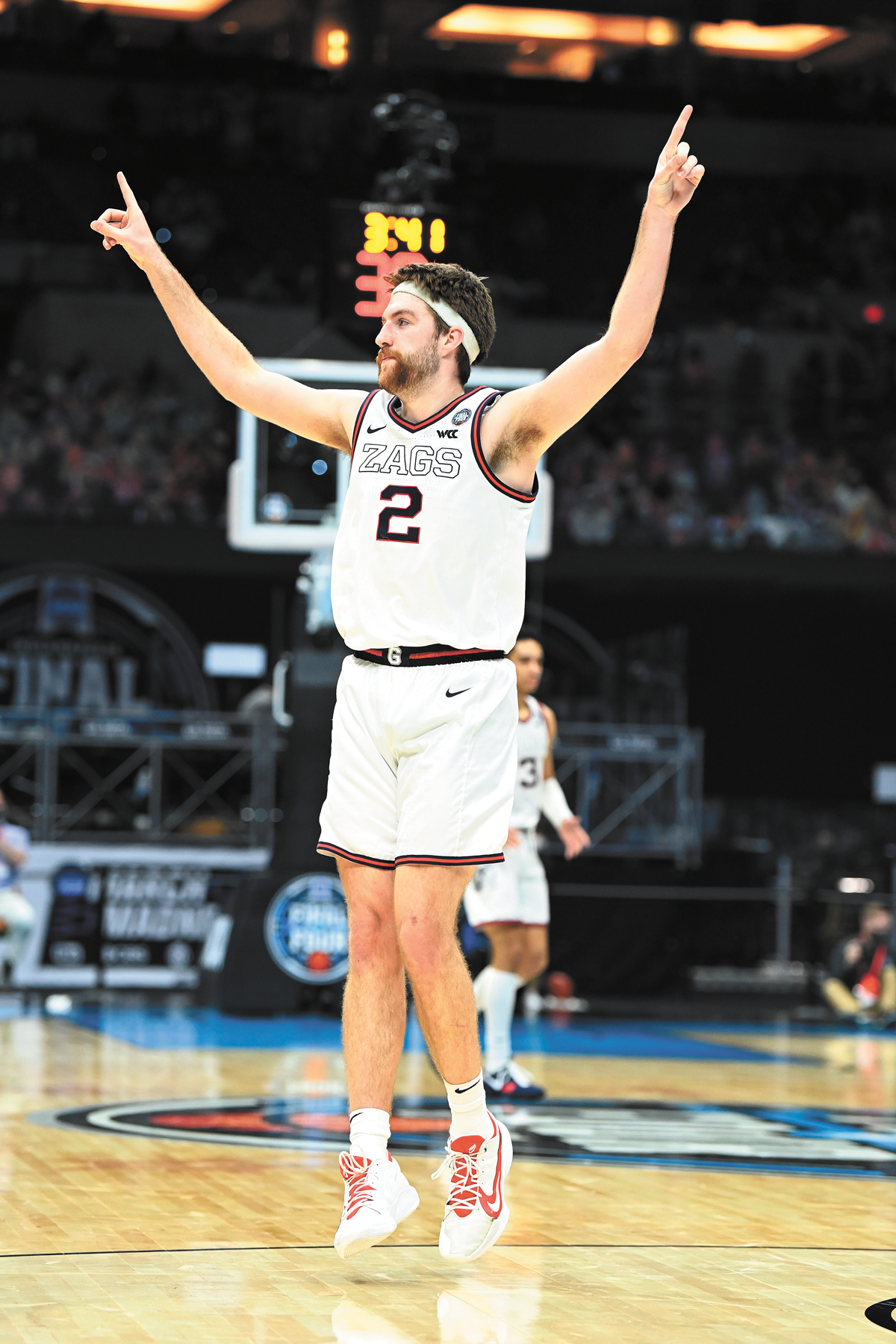 Drew Timme made something of an old-school decision off the court by opting to return to college rather than leaving early for the NBA. And for that, we thank you. - NCAA PHOTO