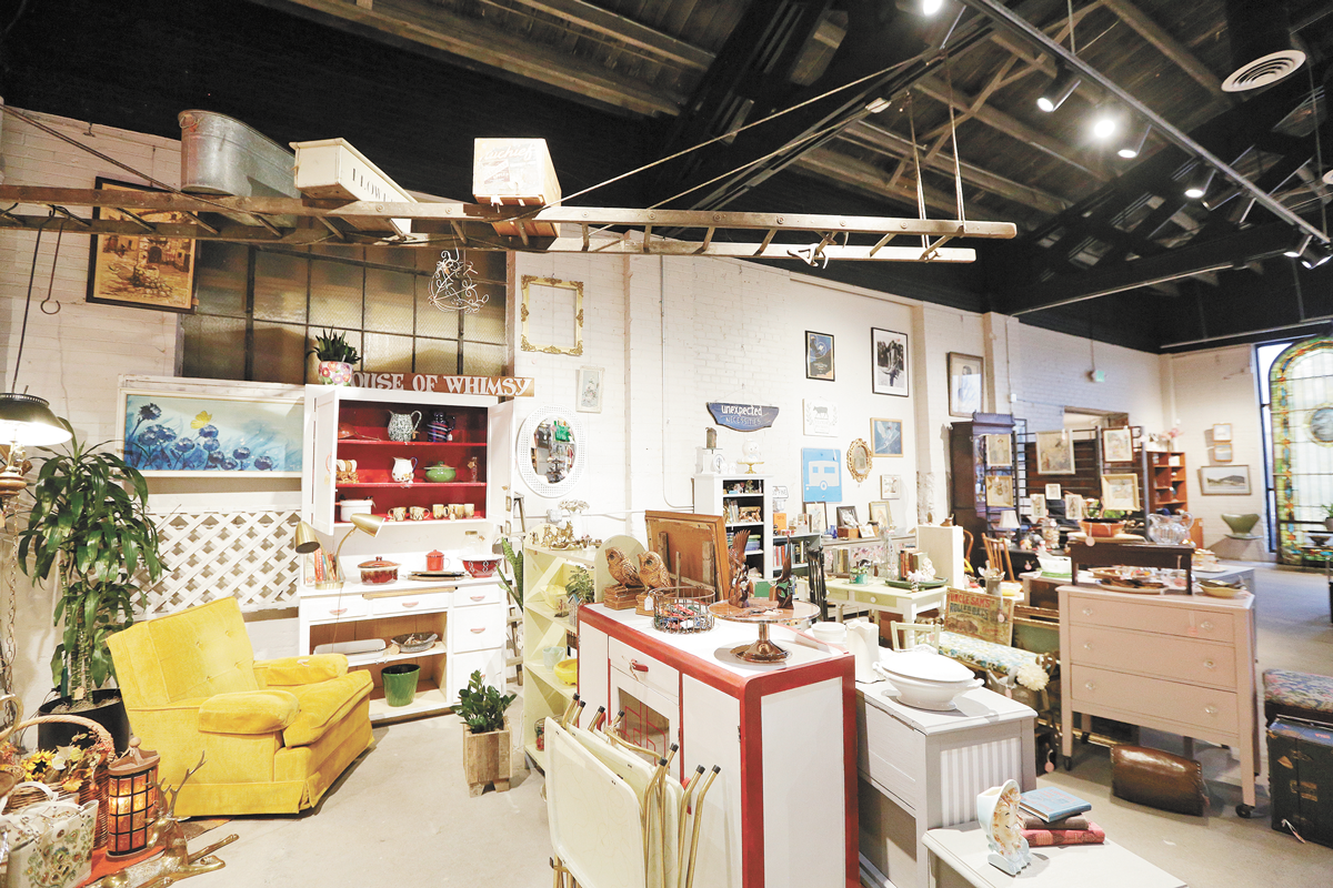Boulevard Mercantile won in two categories — Best Vintage and Best Antique shop. - YOUNG KWAK PHOTO