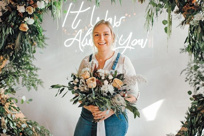 Firehouse Flowers' Addison Sturges - AMY STONE PHOTO