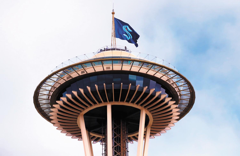 Seattle's new hockey team finds fans in Spokane. - SEATTLE KRAKEN PHOTO