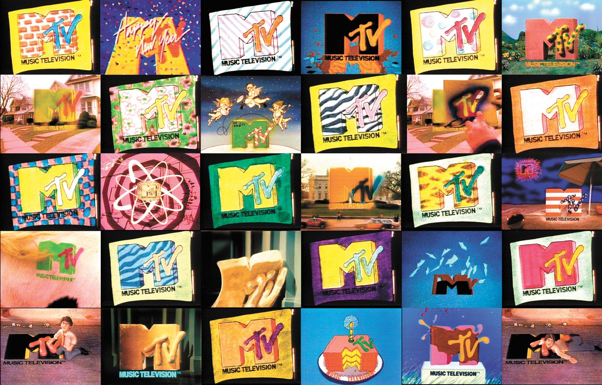 MTV's playful, pliable logo made for great visuals between videos. - FRED SEIBERT DESIGNS